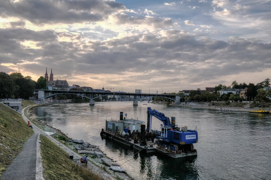 The Rhine in Basel
