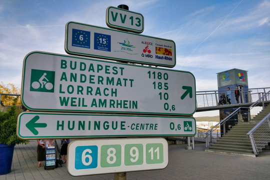 Quite a distance to Budapest