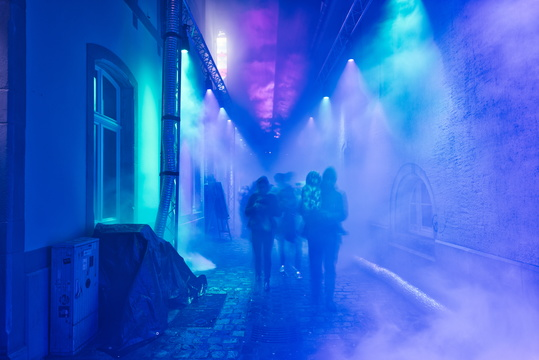 Luxembourg Light Festival, Blue