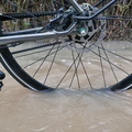 Bike in water