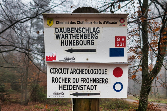 Hiking directions near Oberhof