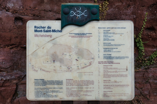 Mont Saint-Michel map