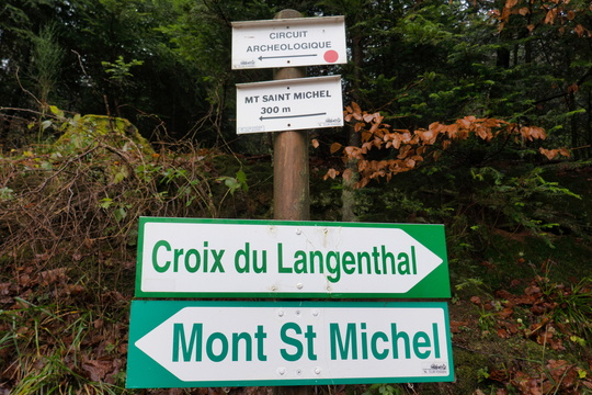 Hiking directions near Mont Saint-Michel
