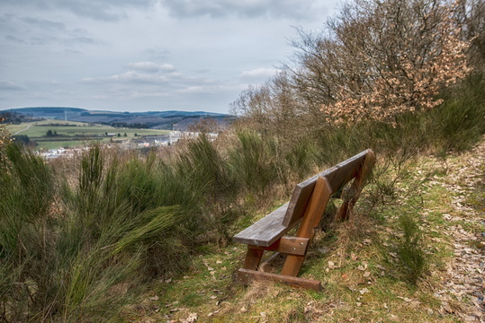 Bench near Wiltz