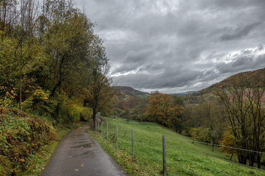 PC 3 towards Vianden near Reisdorf