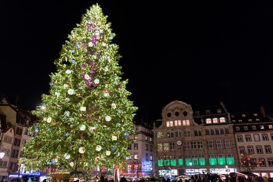 Christmas tree, Place Kléber, Strasbourg