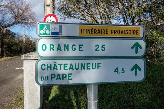 Cycling directions in Sorgues