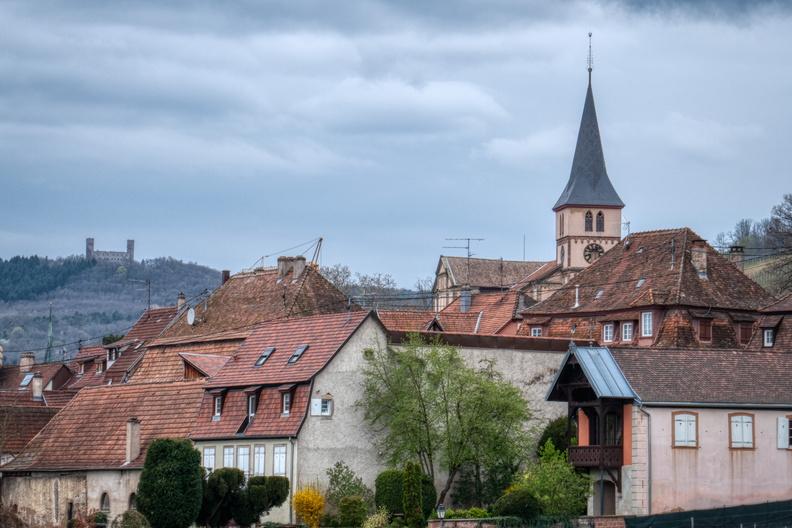 Barr and Château d'Andlau