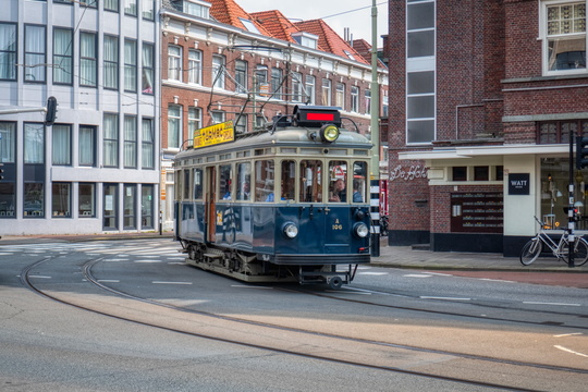 Tramway in The Hague