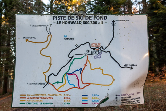 Skying map (don't know where I am on it)