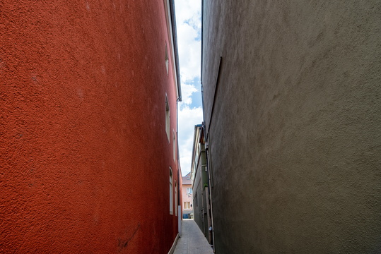 Narrow street in Remich