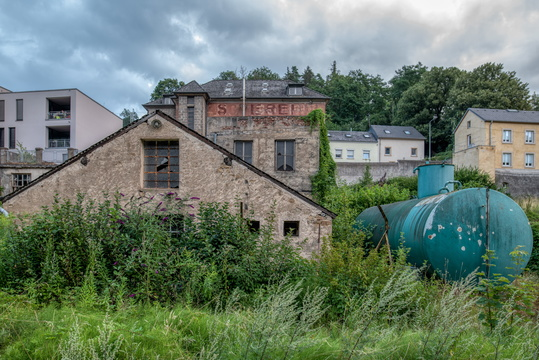 Old constructions in Alzette valley
