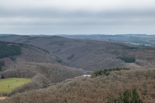 View to the Sauer valley