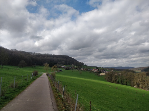 Cycleway from Reisdorf to Bettel
