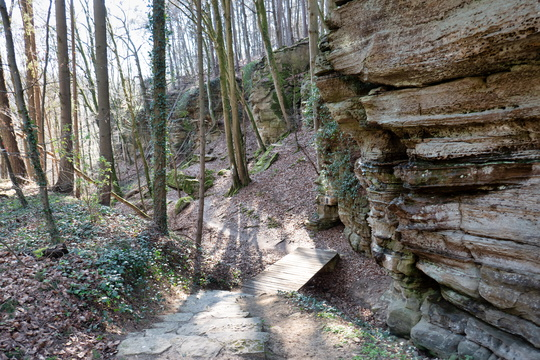 Hiking trail near Berdorf