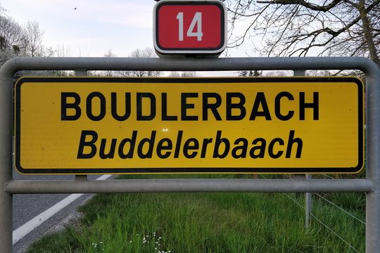 My first time in Boudlerbach