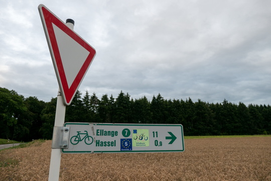 New features on the EuroVelo 5 cycling route