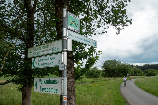Cycling directions near Gillenfeld