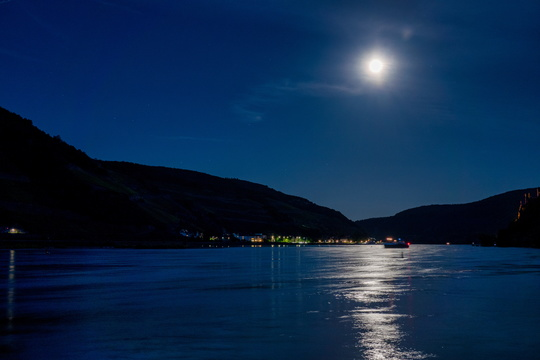 Moon on the Rhine