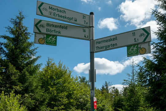 Cycling directions near Ruppelstein