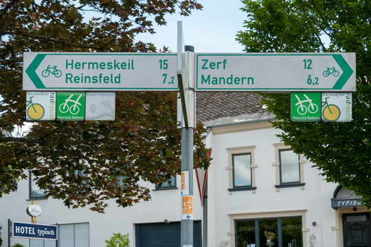 Cycling directions in Kell am See