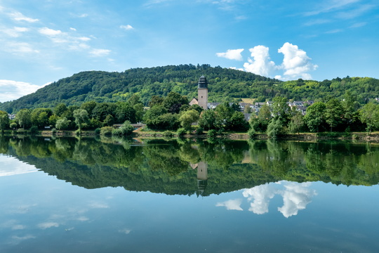 Reflections on the Moselle river