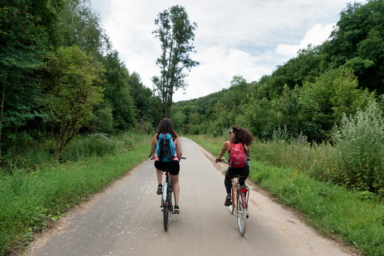 Cycling to the Moselle