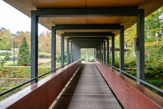 Bridge in Mondorf's park