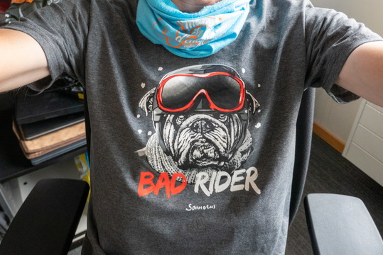 A bad rider in the office