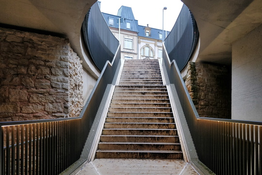 Stairway at Pont Adolphe