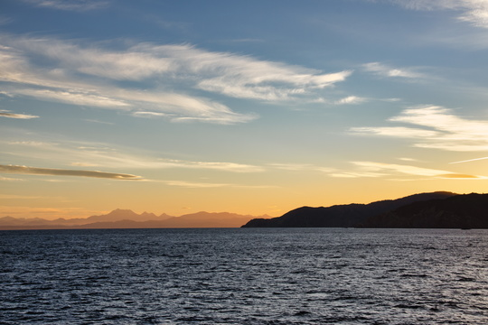 Landscape from Cook Strait